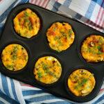 Denver Omelet breakfast muffins