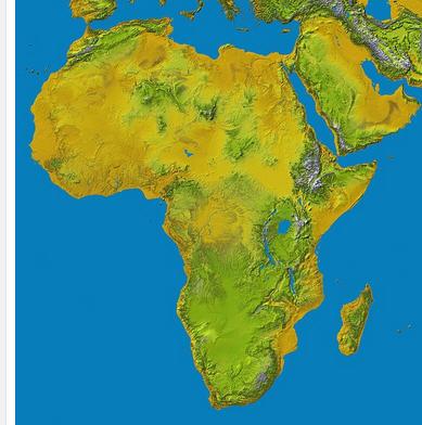 africa shortest