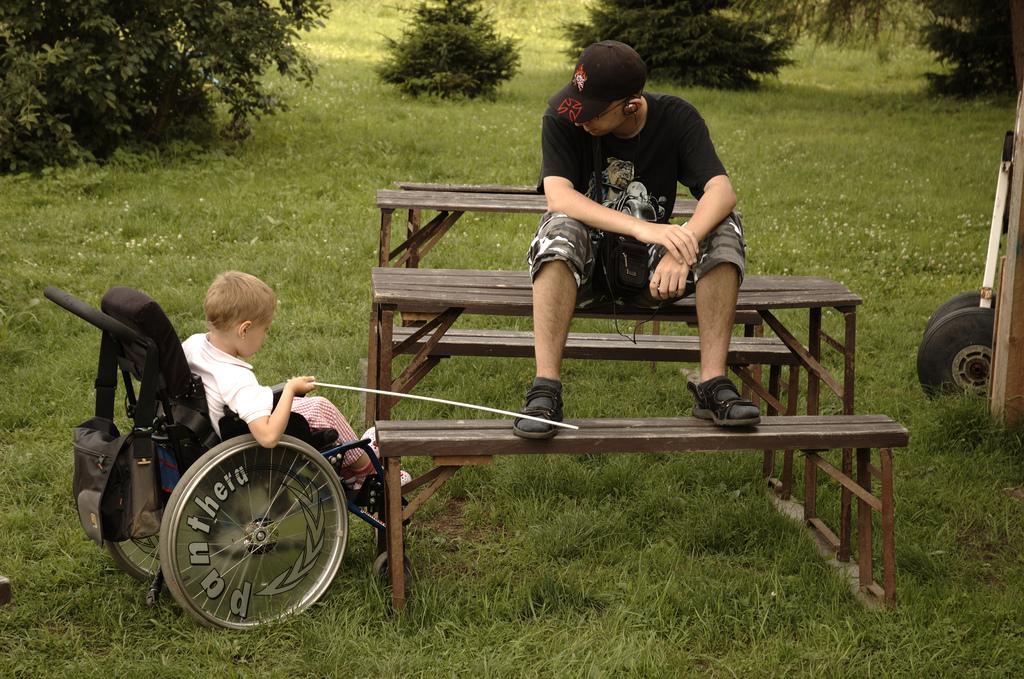 disabled children photo
