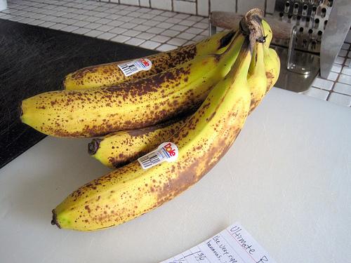 ripe bananas photo