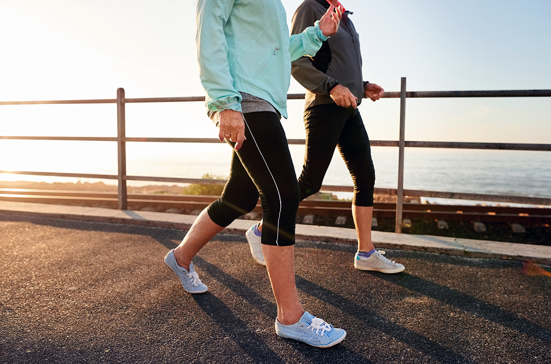 Walking keeps you healthy and boosts energy