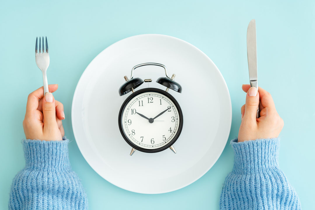 Meal planning for diet- intermittent fasting