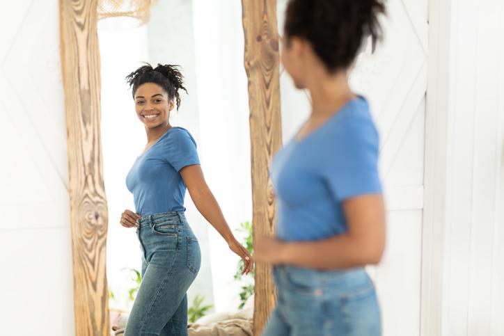 establecer micro-metas, metas de salud, celebrando la pérdida de peso exitosa