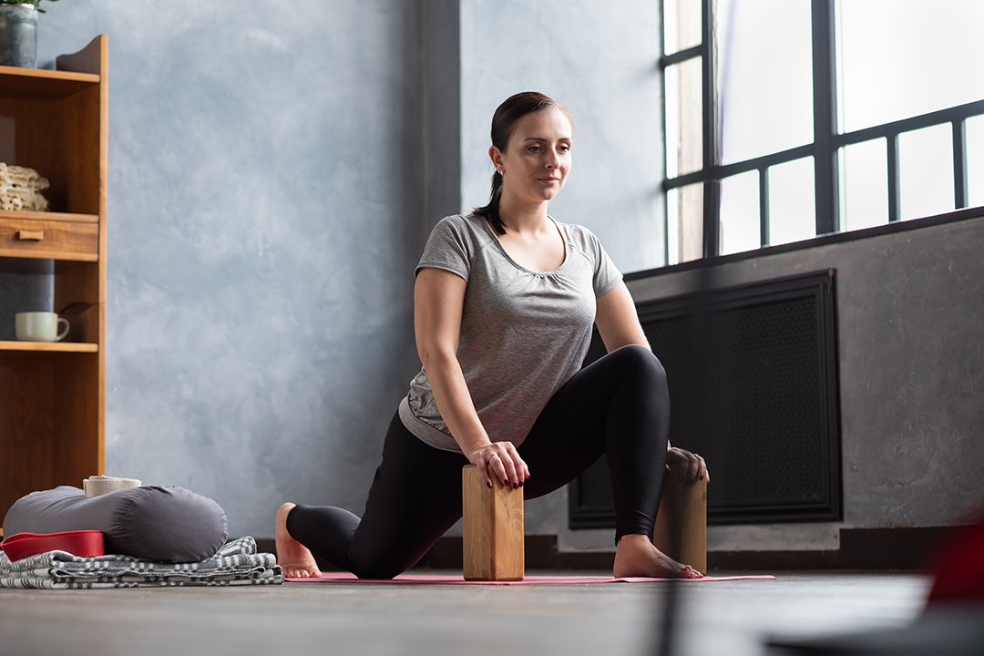 runners lunge for low back pain relief