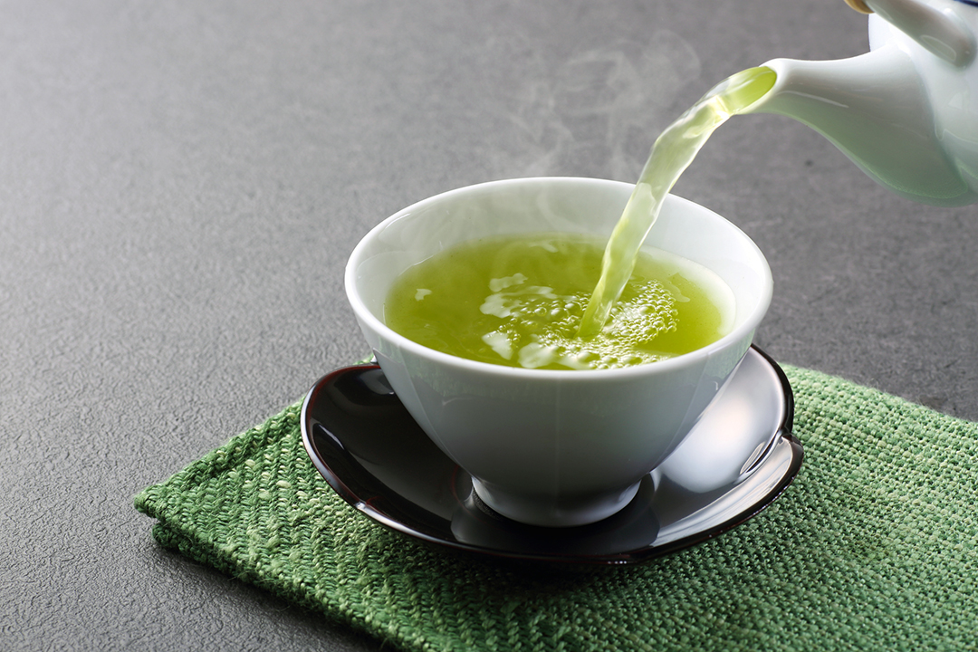 Té verde para energía durante todo el día
